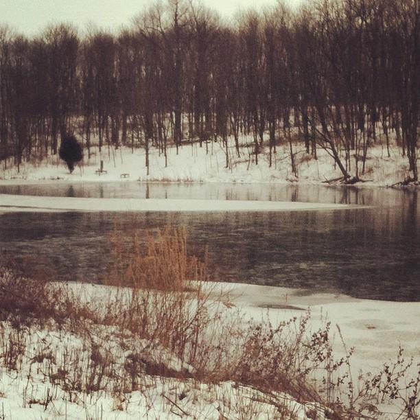 On Frozen Pond...